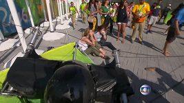 Spadlá kamera v Riu