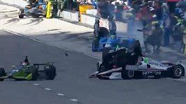 Nehoda v IndyCar