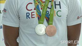 Medailisté z Ria odpovídají, jestli je deset medailí z OH dost.