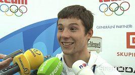 Jiří Prskavec nosí medaili v batohu