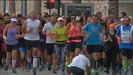 Začátečníci v Bejrútu společně trénují na svůj první maratón.