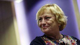 Martina Sáblíková vzpomíná na Věru Čáslavskou