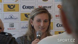Oštěpařka Barbora Špotáková má do závodění dál chuť