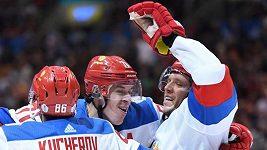 Sestřih zápasu Rusko - Severní Amerika