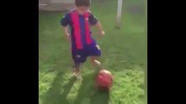 Tříletý chlapec zaujal skauty Manchesteru City.
