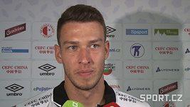 Brankář Slavie Jiří Pavlenka o Spartě před pražským derby