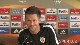 David Holoubek před zápasem s Interem Milán