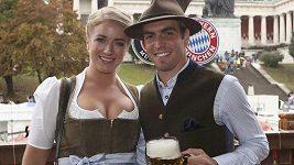 Hráči Bayernu navštívili Okroberfest
