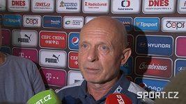 Trenér fotbalové reprezentace Karel Jarolím