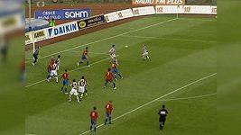 Sparta zaskočila Plzeň originální standardkou.