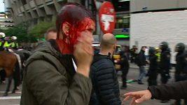 Fanoušci Varšavy se v Madridu rvali s policií