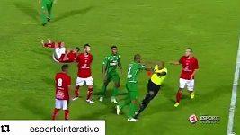 Brazilský fotbal neunesl vyloučení