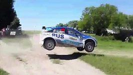 Nalbandian havaroval na Argentinské rallye