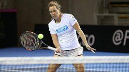 Zpestření tréninku českých tenistek před finále Fed Cupu