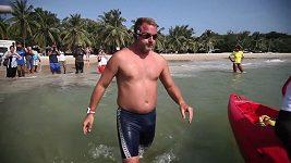 Ben Hooper chce přeplavat Atlantik