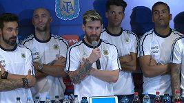 Lionel Messi vyhlásil bojkot médií