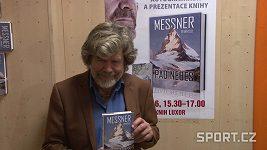 Reinhold Messner v Praze