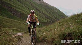 Extrémní cyklista Daniel Polman
