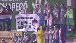 Zápas fotbalistů Chapecoense