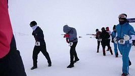 Mannequin Challenge při arktickém maratónu