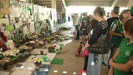 Připravuje se pohřeb fotbalistů Chapecoense
