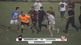 Útok na rozhodčího v Argentině
