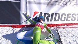Ilka Štuhecová vyhrála i třetí sjezd v sezóně