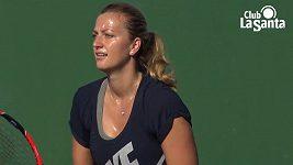 Petra Kvitová se rozpovídala o své přípravě na novou sezónu