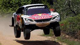 Sébastien Loeb ve 2. etapě Rallye Dakar