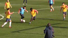 Messiho paráda na tréninku