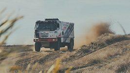 Martin Kolomý a Aleš Loprais po 4. etapě Rallye Dakar