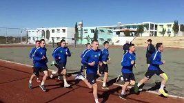 Slovan dřel na Kypru
