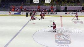 Čtvrtfinále MS hokejistek do 18 let Česko - Rusko