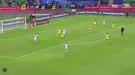 Mahrízův gól na mistrovství Afriky