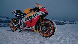 MotoGP na sněhu