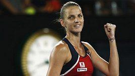 Karolína Plíšková postoupila do čtvrtfinále Australian Open