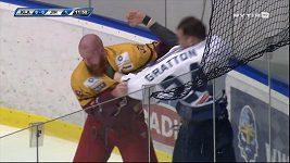 Bitka v utkání 1. hokejové ligy