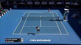 Semifinále AO S. Williamsová - Lučičová-Baroniová