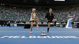 Vítězný tanec Šafářové s Mattekovou-Sandsovou