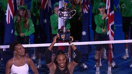 Finálovou bitvu sester Williamsových ovládla Serena