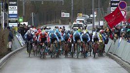 Sestřih závodu mužů na MS v cyklokrosu