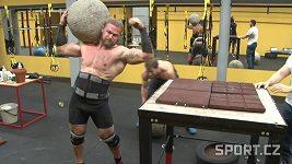 Strongman Jiří Tkadlčík