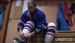 Hokejistka Adéla Škrdlová
