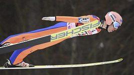 Závod SP v letech na lyžích v Oberstdorfu