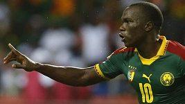 Vítězný gól Kamerunu ve finále proti Egyptu