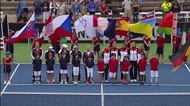 Ohavnost rozplakala německé tenistky. Před Fed Cupem v USA jim hráli nacistickou hymnu
