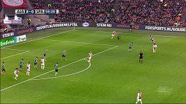 Obránce Ajaxu obelstil zadáky Sparty Rotterdam