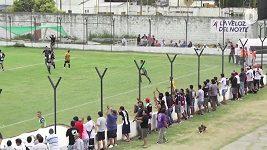 Divočina při Argentinském poháru