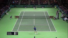 Tomáš Berdych prohrál s Francouzem Tsongou
