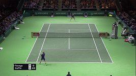 Francouz Tsonga vyhrál turnaj v Rotterdamu